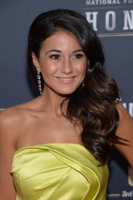 Emmanuelle Chriqui at 3rd Annual NFL Honors in New York in February 2014.