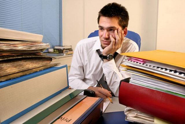 Feel Tired in Office