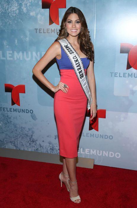 Gabriela Isler at 2014 Telemundo Upfront