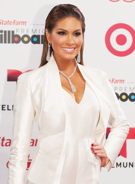 Gabriela Isler at Latin Billboard Awards 2014.