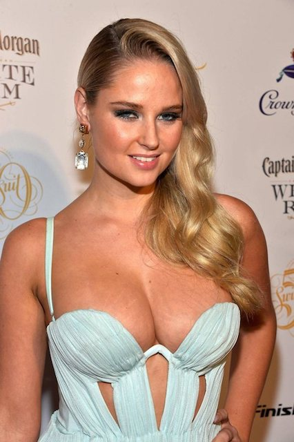 Genevieve Morton during Sports Illustrated Party in Miami