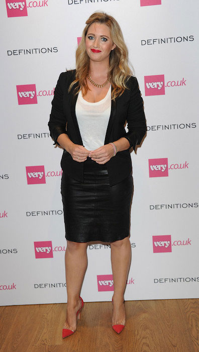 Hayley McQueen arrives at the Very.co.uk Launch Party.