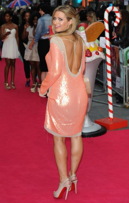 "Hayley McQueen at ""Katy Perry: Part of Me"" UK premiere"