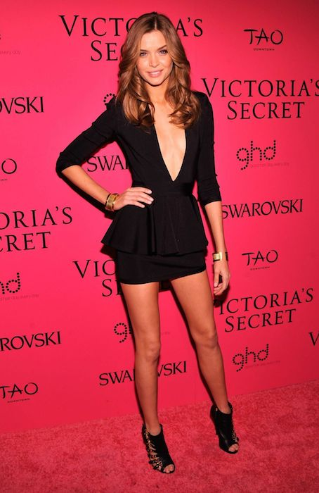 Josephine Skriver at Victoria's Secret Fashion After Party.