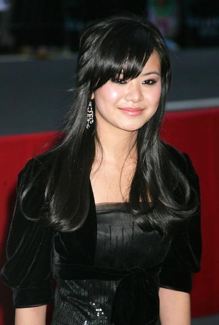 Katie Leung face closeup