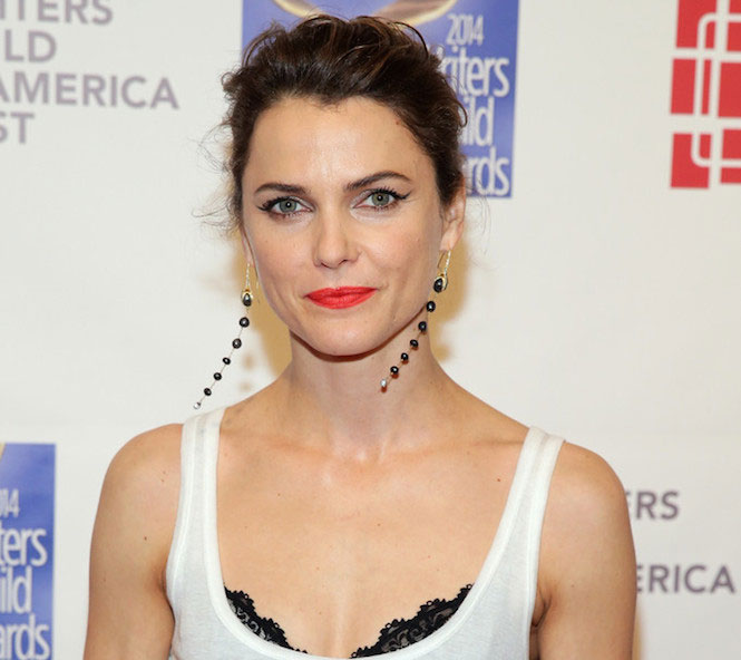 Keri Russell at 2014 Writers Guild East Coast Ceremony