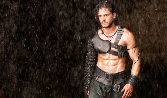 Kit Harington Pompeii workout