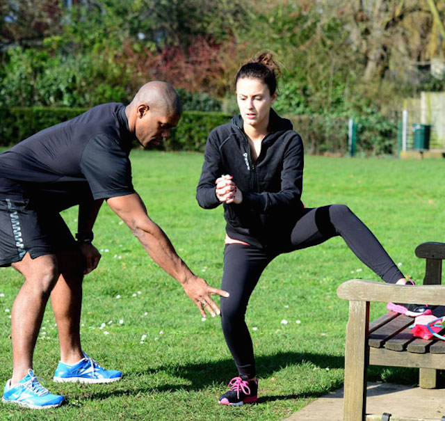 Lucy Watson Made in Chelsea workout