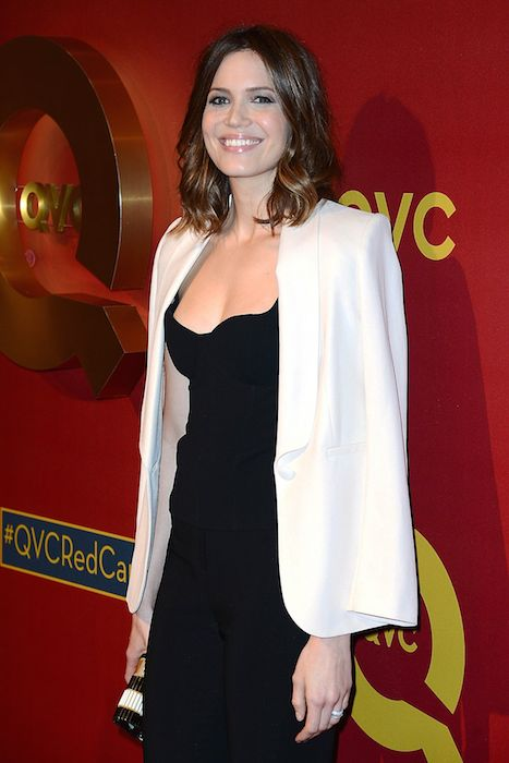 Mandy Moore at 2014 QVC Red Carpet Style Event.