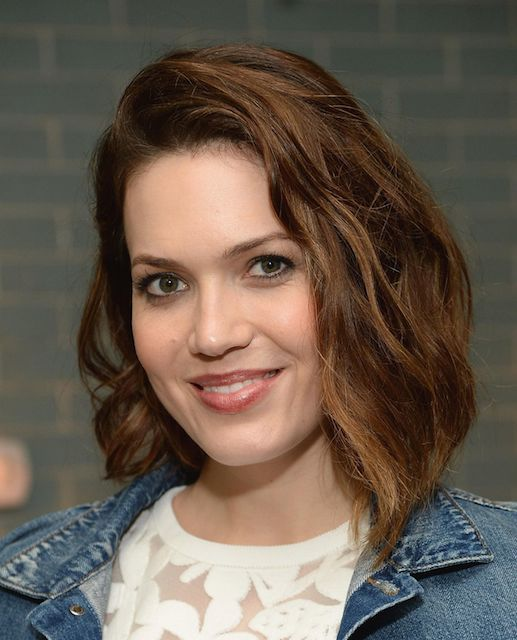 Mandy Moore at anthropologie celebration of a denim story in Los Angeles in March 2014.