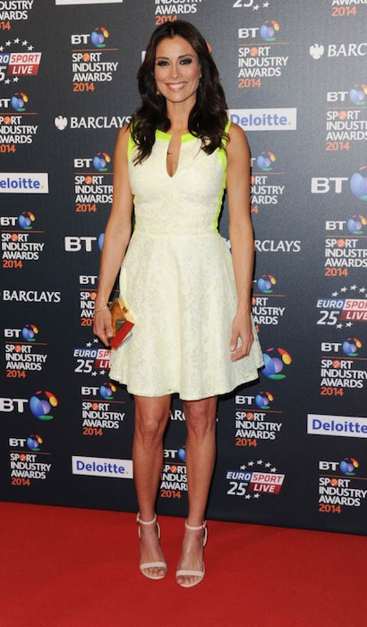 Melanie Sykes attends the BT Sport Industry Awards in London
