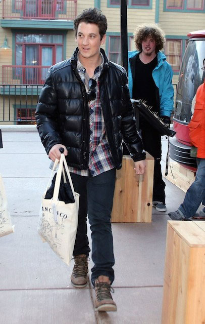 Miles Teller at the 2014 Sundance Film Festival in Park City