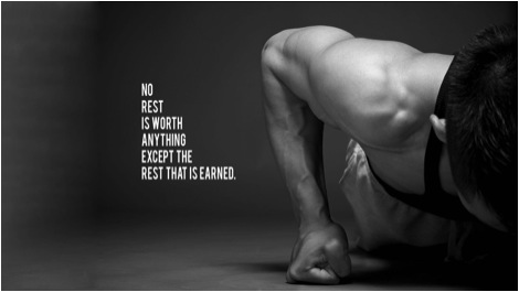 No rest is worth anything