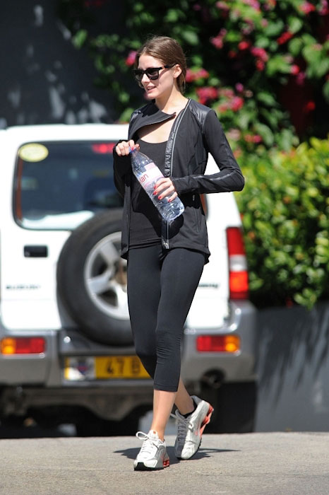 Olivia Palermo in her workout gear