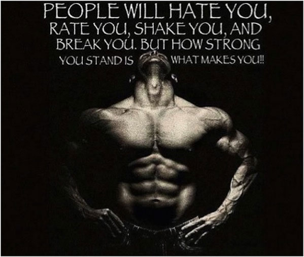 People will hate you