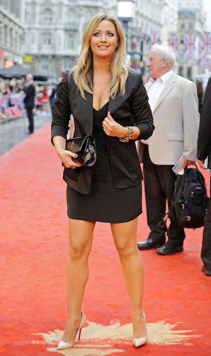 Sky Sports girl, Hayley McQueen
