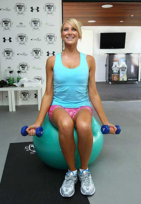 Stephanie Pratt workout routine