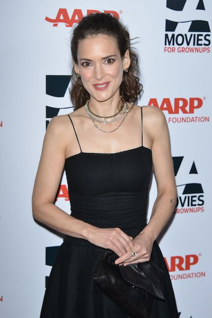 Winona Ryder at AARPs Movies for Grownups Gala in February 2014