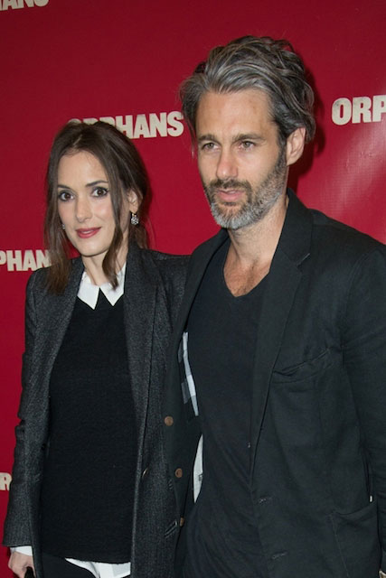 Winona Ryder and Scott Mackinlay Hahn