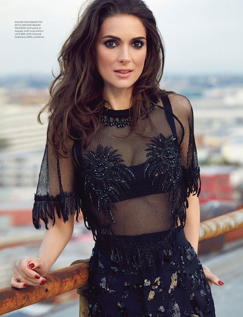 Winona Ryder for Red Magazine