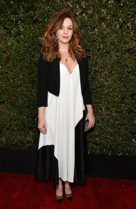 Amber Tamblyn at 2014 Writers Guild East Coast Ceremony