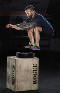 Bob Harper doing exercise