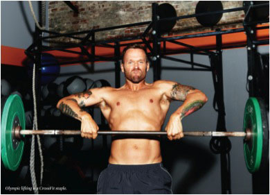 Bob Harper doing upright exercise