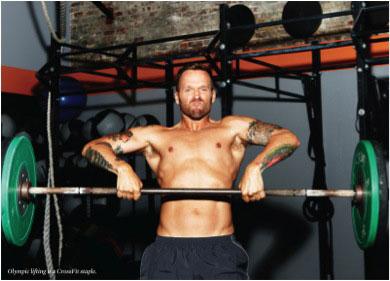 Bob Harper doing upright exercise