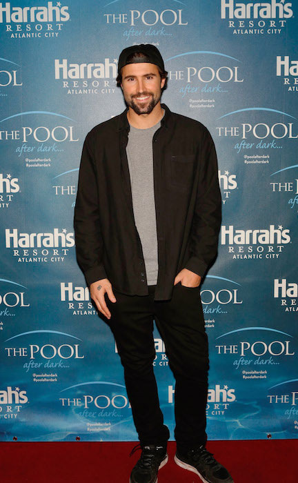 Brody Jenner at The Pool After Dark in Harrah's Resort and Casino.