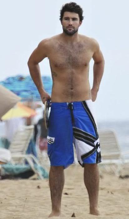 Brody Jenner shirtless body