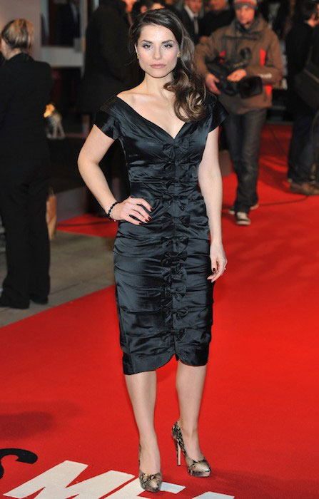 Charlotte Riley at the UK premiere of 'This Means War'.