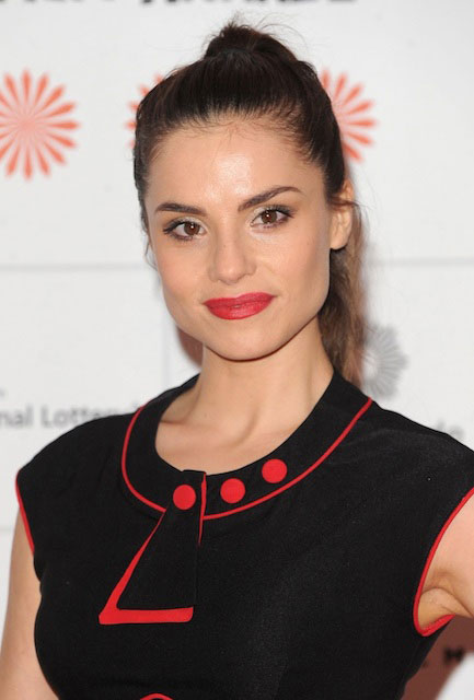 Charlotte Riley at 2013 Moet British Independent Film Awards.