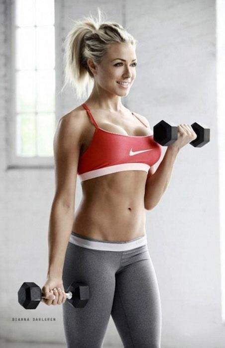 Dianna Dahlgren bodybuilding