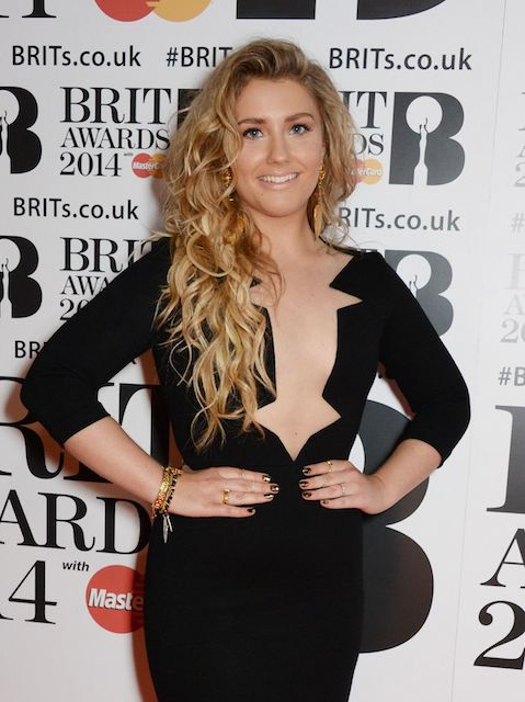 Ella Henderson at BRIT Awards 2014