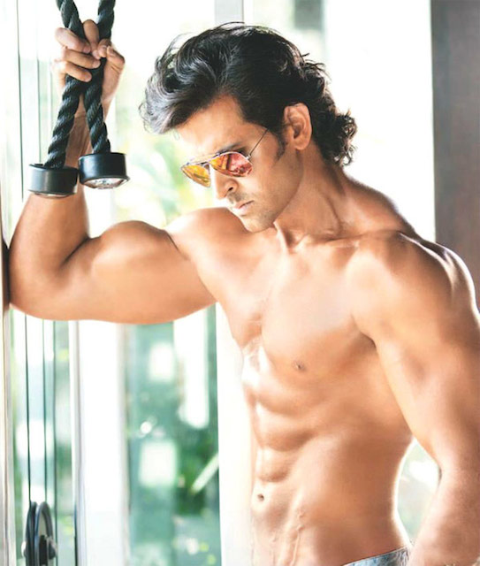 Image result for hrithik roshan body