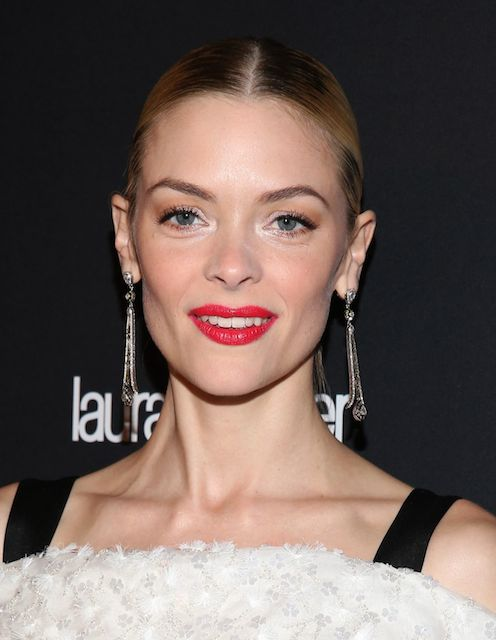 Jaime King wears Prabal Gurung Dress at The Weinstein Company 2014 Golden Globe After Party.