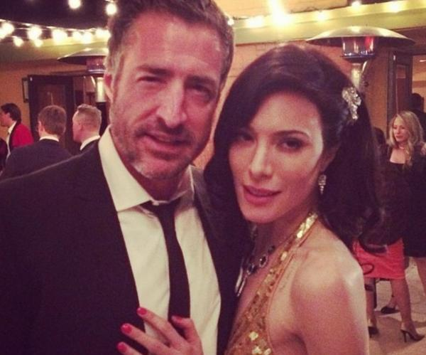 Jaime Murray and Bernie Cahill