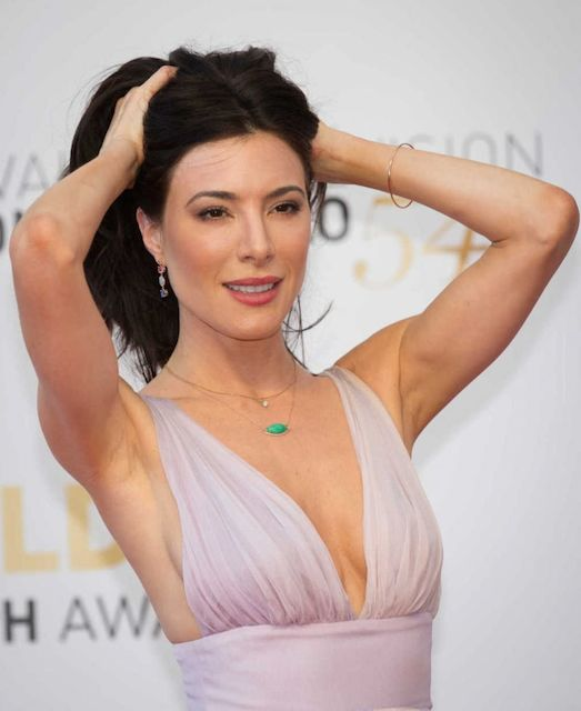 Jaime Murray at closing ceremony of the 54th Monte Carlo Television Festival held in 2014.