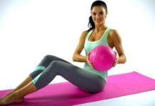 Jayde Nicole mat workout