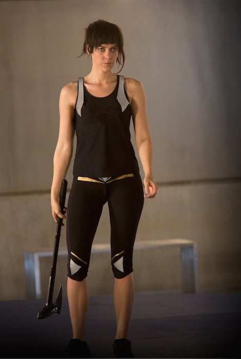 Jena Malone in a still from Hunger Games