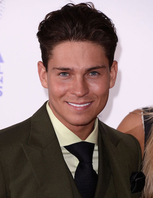 Joey Essex at the National Television Awards, The O2, London, Britain.