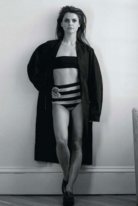 Keri Russell at Malibu Magazine 2014 Edition.