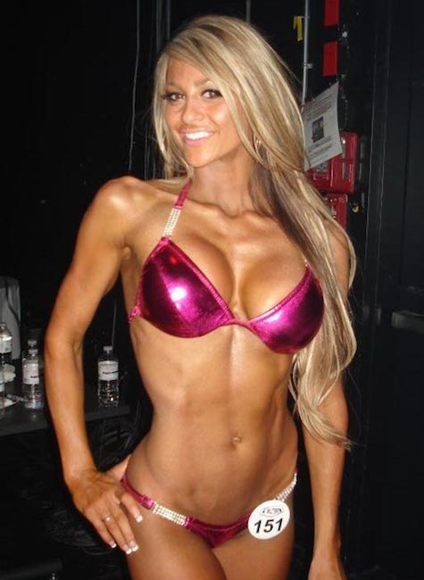 Laura Michelle Prestin, fitness model