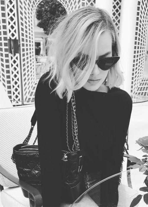 Margot Robbie in Paris in May 2018