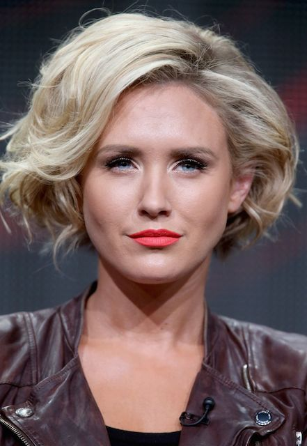 Nicky Whelan at Matador El Rey Network 2014 Summer TCA in Beverly Hills.