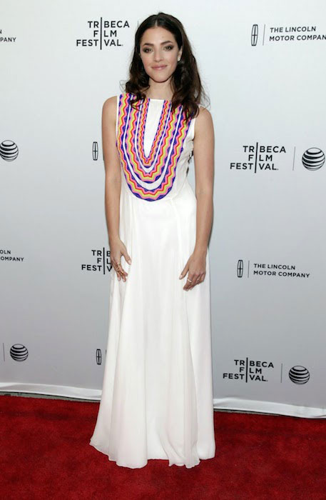 "Olivia Thirlby at 2014 Tribeca Film Festival attending ""Just Before I Go"" premiere."