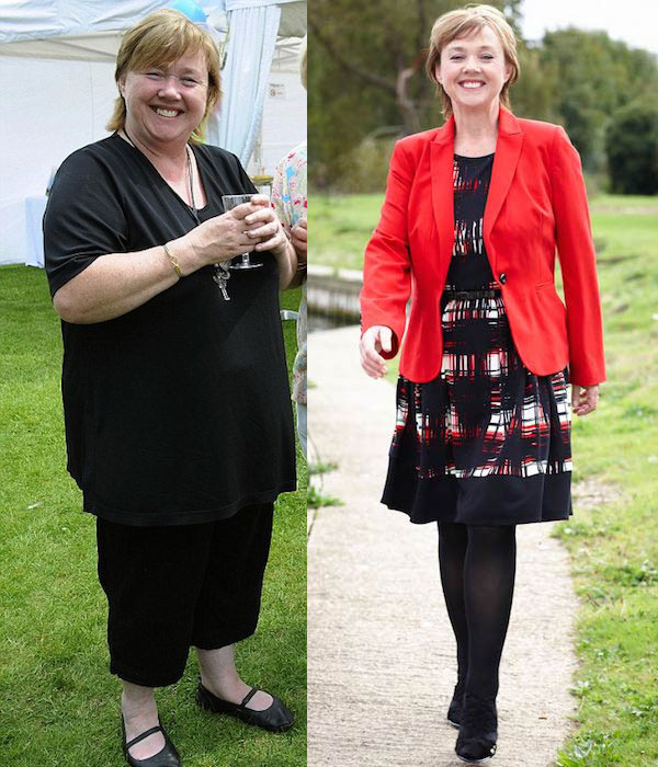 Pauline Quirke weight loss from flab to fab