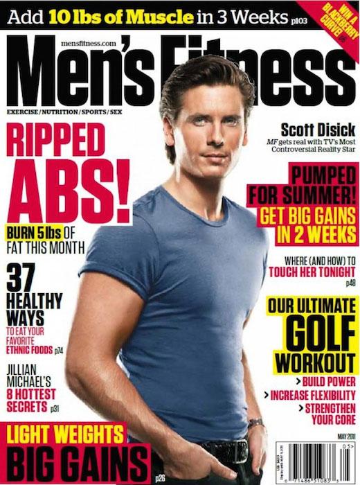 Scott Disick Men's Fitness