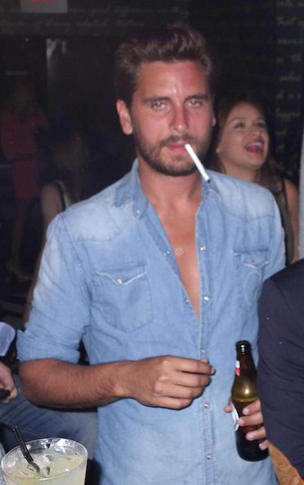 Scott Disick booze
