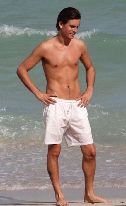 Scott Disick workout